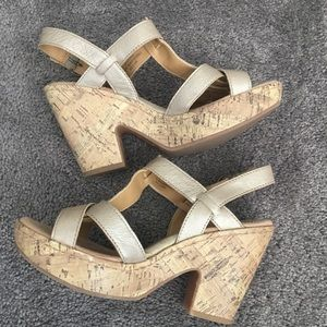 B.O.C Wedge Sandals size 8